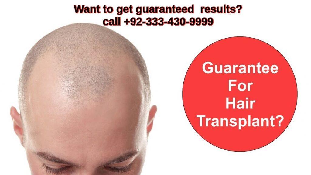 Hair transplant guarantee Lahore Pakistan